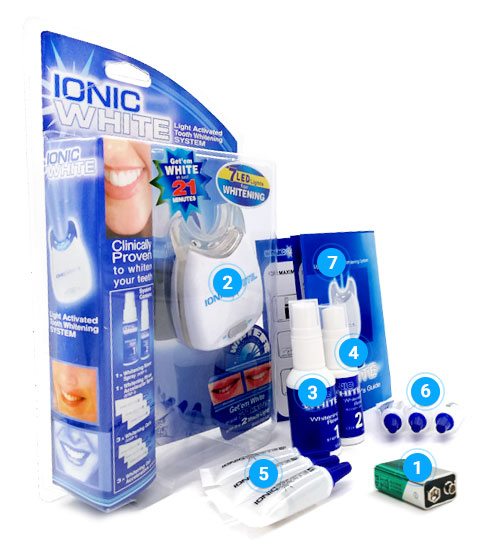 ionic white kit sbiancante denti